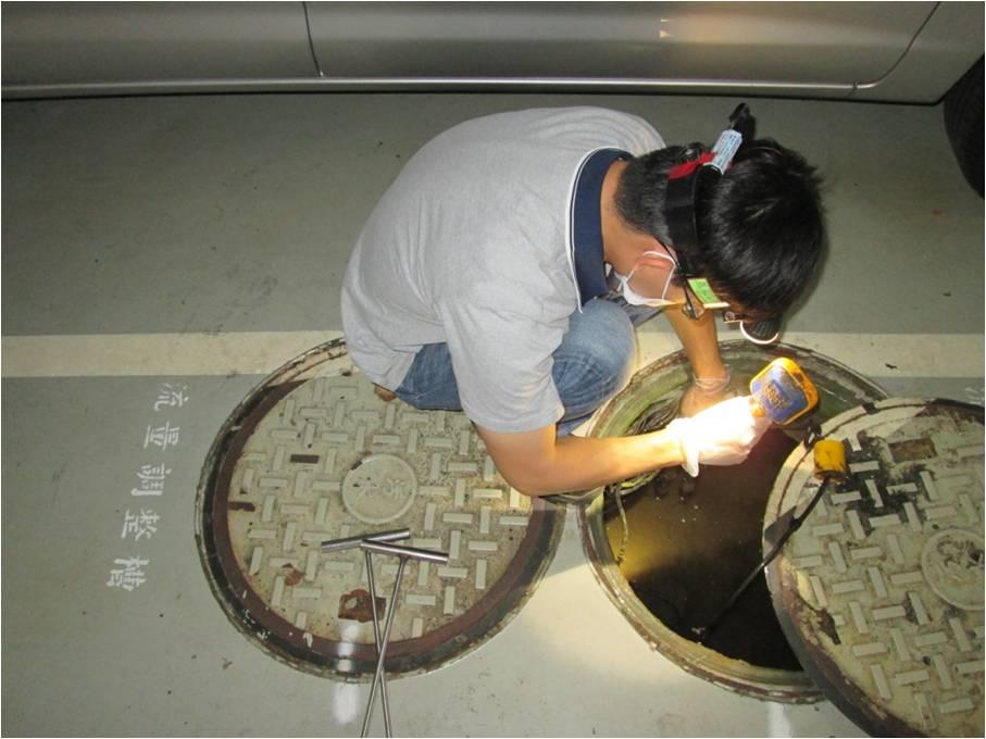 污水設備檢查