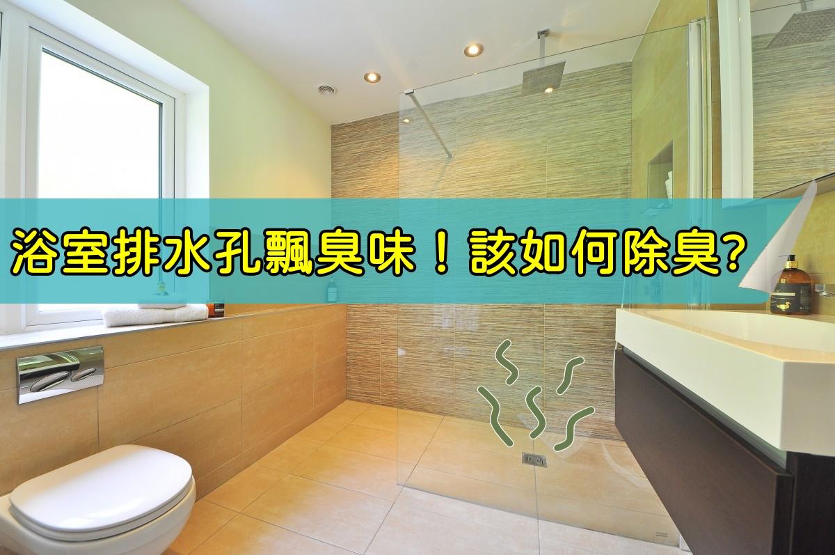 浴室排水管除臭