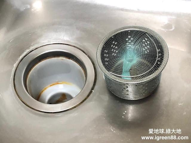水槽提籠裝濾網